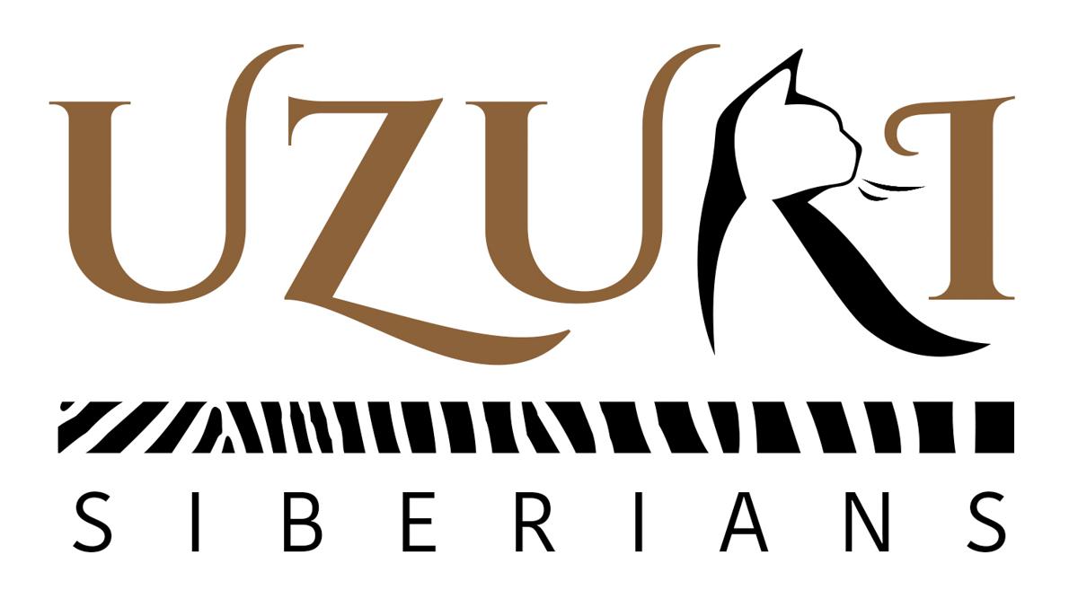 graphic and logo design for Uzuri Siberians