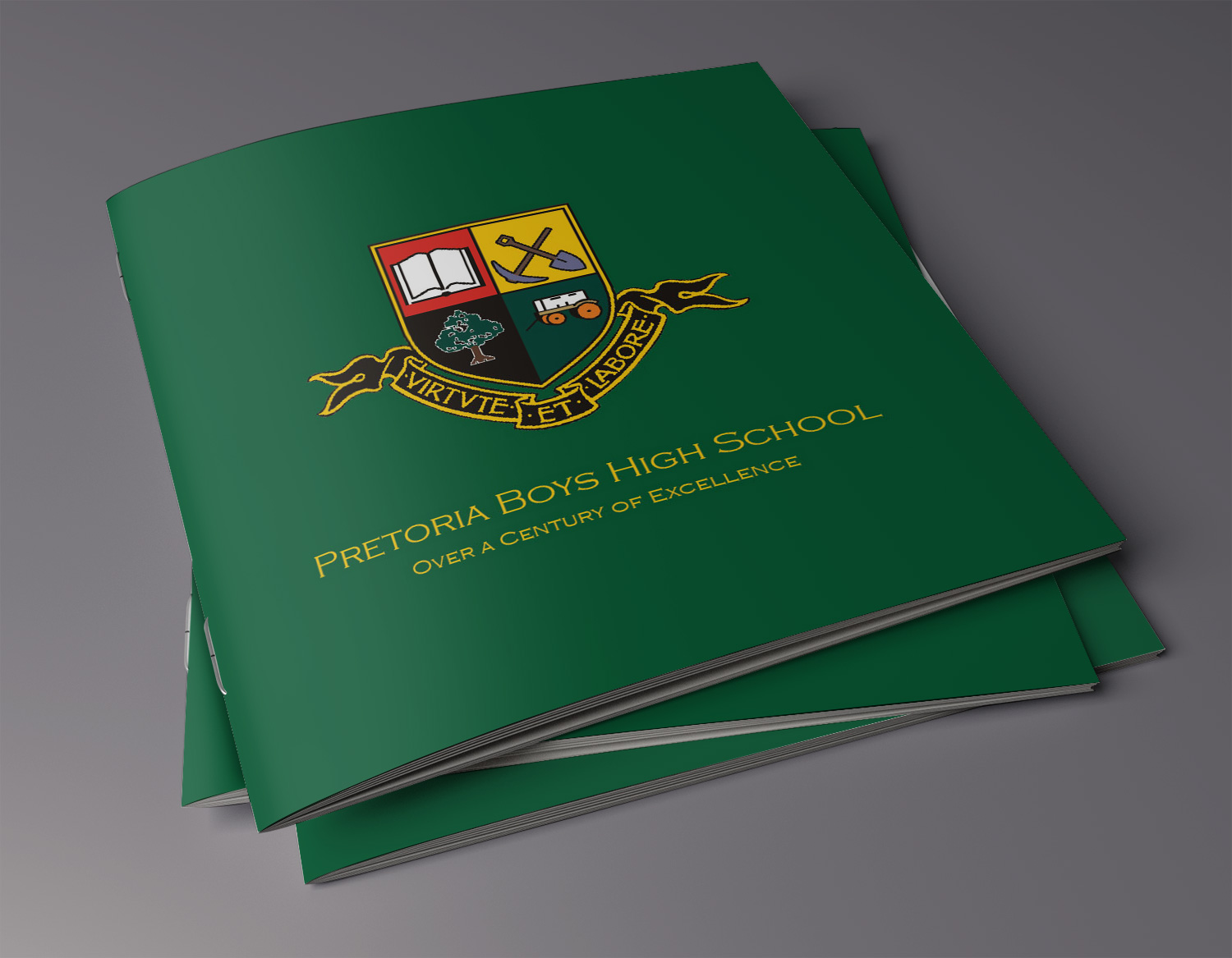 Prospectus Design for Pretoria Boys High