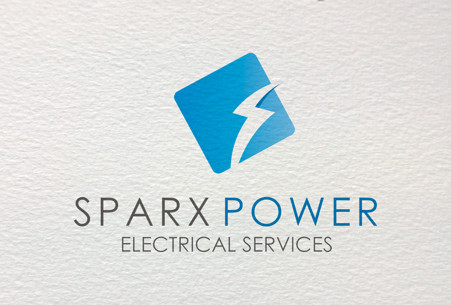 Crafford Productions Logo Design for Sparx Power