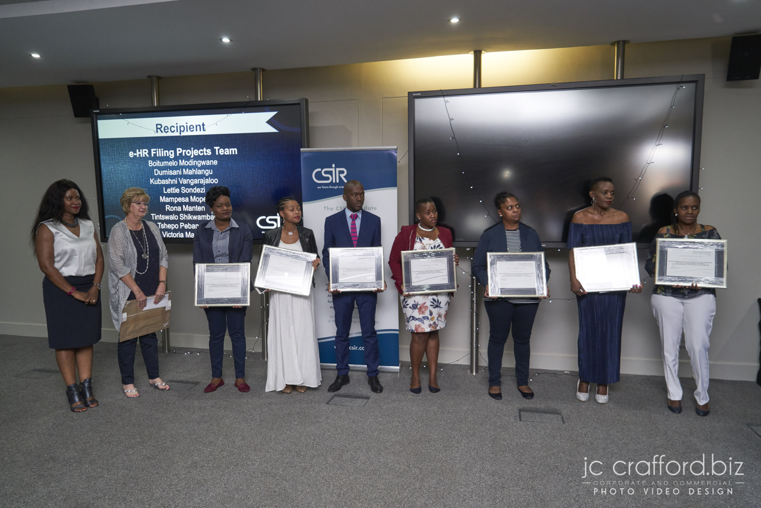 JC Crafford.biz corporate function and awards ceremony photography CSIR